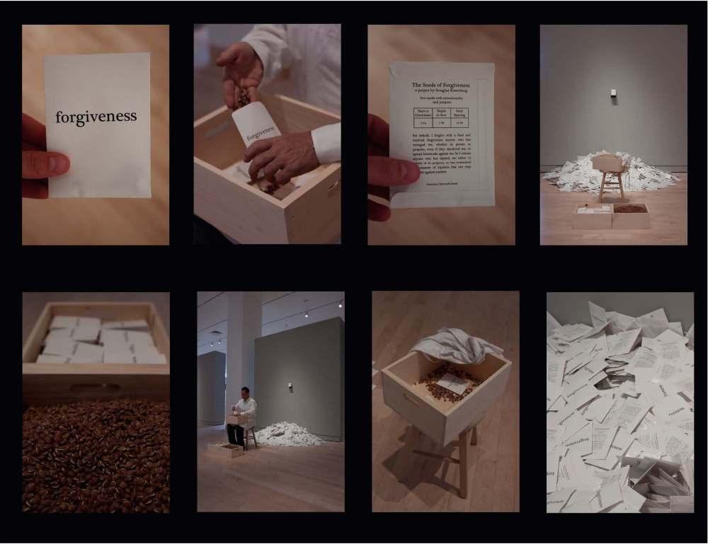 Forgiveness exhibition materia, 2009