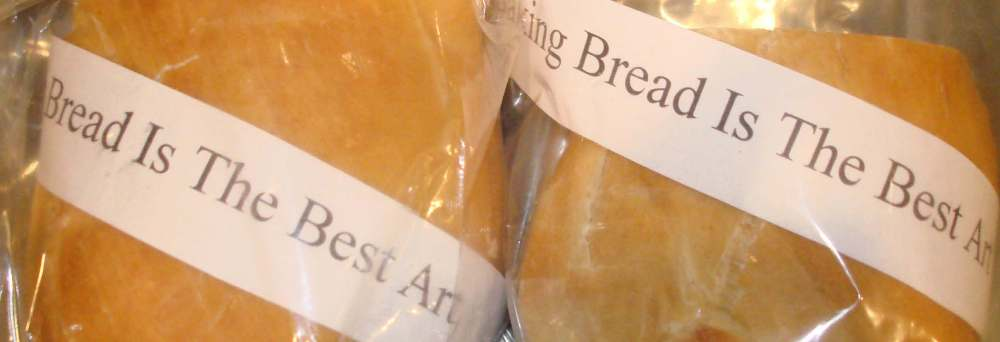 Bread (bread, plastic), 2007