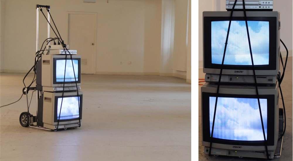 Mobile Landscapes (cart, electronics), 2011
